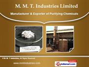 Industrial Chemicals by M. M. T. Industries, Coimbatore