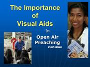 Importance of Visual Aids by Leny Orongan
