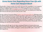 Cerna Home Care Regarding Stress Free Life with Home Care Newport Beac