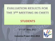SS_EVALUATION RESULTS FOR THE 3RD MEETING IN CHIETI verd