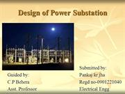 DESIGN OF POWER SUBSTATION