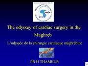 History of cardiac surgery in the Maghreb