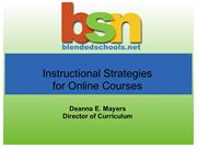 InstructionalStrategies