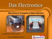 Metal Detector Systems by DAS Electronics, Mumbai