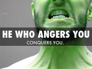 Quotes to Manage Your Anger