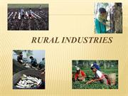 Rural Industries