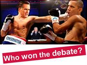 Romney Obama Debate Winner - Who won the 2012 USA Presidential Debate