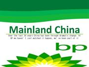 BP Holdings - Mainland China