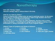 Nano SRT Stress Reduction Therapy