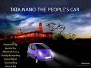 TATA NANO-THE PEOPLE'S CAR