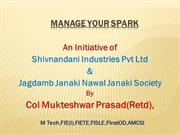Manage your spark
