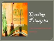 Guiding Principles  Crown Capital Eco Management