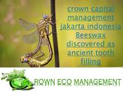 crown capital management jakarta indonesia  Beeswax discovered as anci