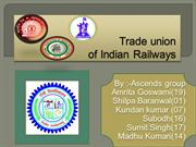 Trade union of ir