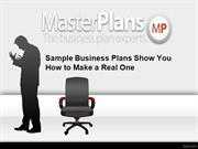 Sample Business Plans Show You How to Make a Real One