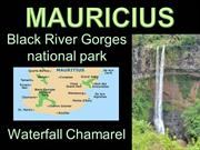 Mauricius - Black River Gorges national park + Waterfall Chamarel-2012
