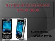 REVIEW OF BlackBerry Torch 9800- II