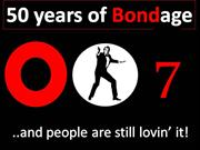 50 Years of BOND age