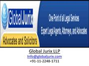 Global Jurix Comes With Latest IPR & Company Law Services
