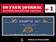 N° 1 D'UN FAUX JOURNAL