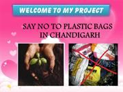 ''PPT on Plastic Pollution in Chandigarh''