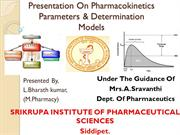 Pharmacokinetics parameters