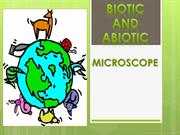 7-1. Biotic and Abiotic