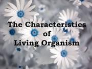 The Characteristics of Living