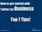 How To Get Started with Twitter For Business