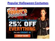 Popular Halloween Costumes for 2012