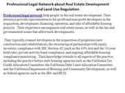 Professional Legal Network about Real Estate Development and Land Use