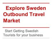 Sweden Outbound Travel Market