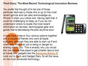 iTech Diary The Most Recent Technological innovation Reviews
