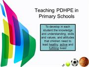 Powerpoint PDHPE sp