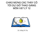 Vl12 Tiêt 31 may phat dien xoay chieu