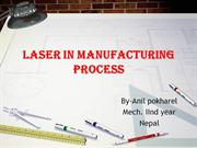Laser In manufacturing process
