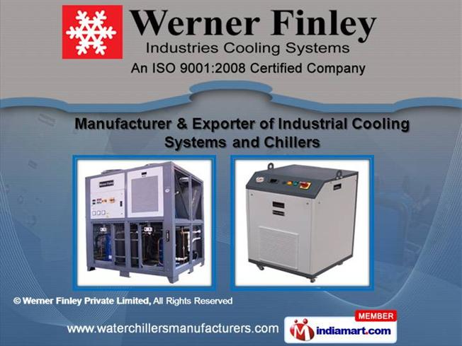 Industrial Cooling System by Werner Finley Private Limited