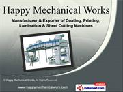 Industrial Machines by Happy Mechanical Works, New Delhi