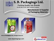 Flexible Packaging Material by S. B. Packagings Ltd., New Delhi