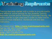 SAP BASIS Online Training Course content @Training Aspirants