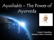 Ayurshakti - The Power of Ayurveda