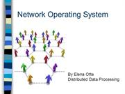 Network Operating Systems11