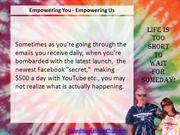 Empower You - Empower Us