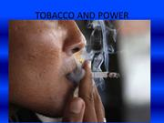 TOBACCO AND NETWORKS