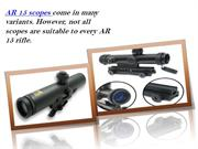 Ar 15 Scopes Reviews