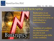 Consultation with Bankruptcy Attorney NC