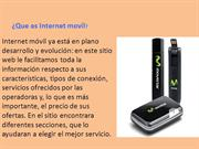 Que es Internet movil