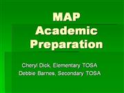 MAP Academic Prep