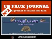 N°2 D'UN FAUX JOURNAL