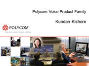 Polycom Voice Product Range